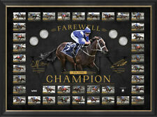 Winx Farewell to the Champion Signed Official Retirement Print Framed 37 WINS