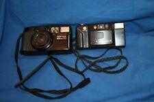 Vintage Lot Of (2) 35MM Film Camera's Pentax and Minolta
