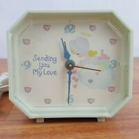"Vintage Precious Moments ""Sending You My Love"" Electric Alarm Clock"