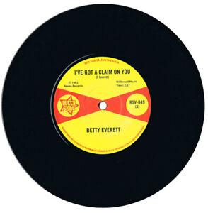 Betty Everett I've Got A Claim On You/Juanita Nixon Stop Knockin' Northern Soul