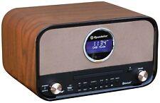 Roadstar HRA-1782D+BT Vintage Design Retroradio mit Bluetooth & DAB, CD/MP3, USB