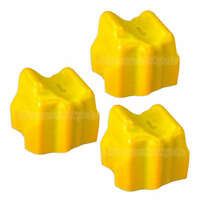 NEW 3pk Yellow Solid Ink Sticks for Xerox Phaser 8560