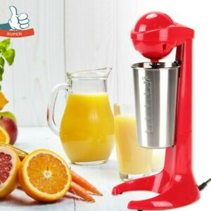 Electric Stainless Steel Milkshake Maker Coffee Protein Smoothie Cup Machine