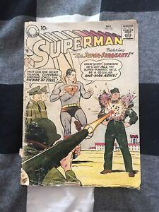 Superman (1939 series) #122 DC comics