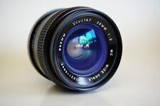 Vivitar 28mm F2 Minolta MD MC mount