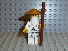 LEGO ® Ninjago personaggio Sensei WU con bacchetta dal set 9450 maestro njo064 Merce Nuova