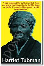 Harriet Tubman - African American History - New Classroom Motivational Poster