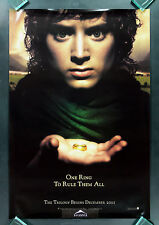 LORD OF THE RINGS FELLOWSHIP OF THE RING * CineMasterpieces RARE MOVIE POSTER