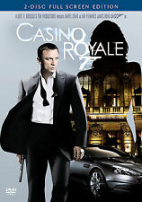 007: Casino Royale (DVD, 2-Disc Set, Full Frame) NEW/SEALED ( B26 )