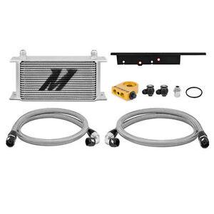 Mishimoto Thermostatic Oil Cooler Kit - Silver -fits Nissan 350Z VQ35DE / VQ35HR