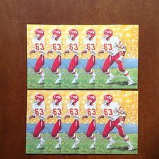 Willie Lanier Chiefs Lot of 10 unsigned Goal Line Art Cards