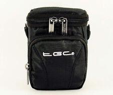 TGC Black Camera Case for Compact Minox Cameras + Belt Loop + Foam Padding