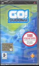 GO! SUDOKU - PSP (NUOVO SIGILLATO) ITALIANO