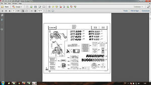 Manitou BT420 BT425 parts catalog in PDF format