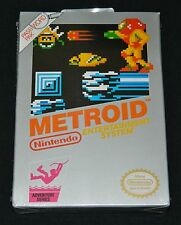 Metroid (NES, 1987) - New H-Seam Sealed Original Pre-Rev-A Release Silver Box