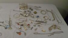 Assorted Lot of Vintage Jewelry for Parts/Repair