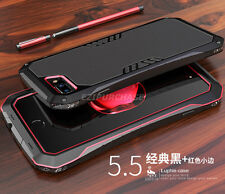 Shockproof LUPHIE Aluminum Metal Bumper Case Cover For iPhone 5 6S 7 8 Plus S001