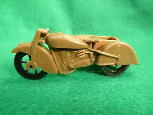 VINTAGE PYRO 1940's STYLE US ARMY MILITITARY H.D. INDIAN MOTORCYCLE W/SIDECAR