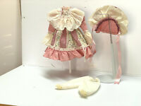 "Beautiful! Vintage Victorian Style Doll Dress Fashion 18"" Doll"