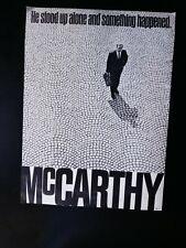 McCarthy for President Poster 1968.