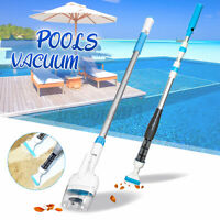 Handheld Cordless Swimming Pool Cleaning Brush Vacuum Cleaner