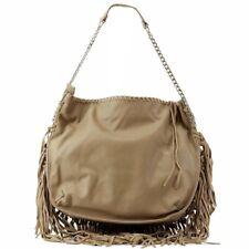 Steve Madden Women's BMadly Taupe Fringe Tote Handbag