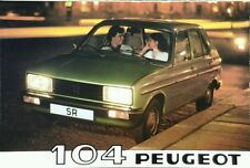 Peugeot 104 Sales Brochure - 1980