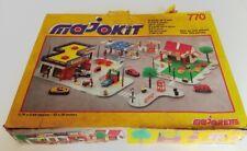 Lot MAJOKIT de MAJORETTE n° 770 dans sa boîte - Jouet années 80 Station - Garage