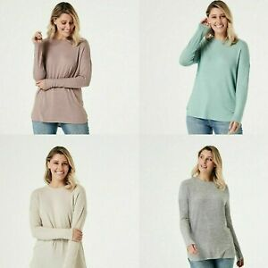 Long Sleeve Snit Tunic Top Snit Fabric Drop Shoulder Design Long Sleeves JK..