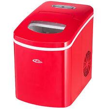 Máquina de cubitos Productor de hielo Ice maker de hielo nuevo rojo