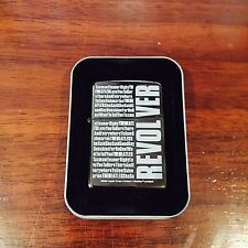 "Zippo Lighter The Beatles ""Revolver"" 2003 Design"