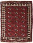 Semi Antique Tribal Red Small 4X5 Vintage Oriental Rug Handmade Decor Carpet