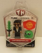 CAPTAINSPARKLEZ TUBE HEROES ACTION FIGURE WITH WEAPONS sword youTube NEW Gift
