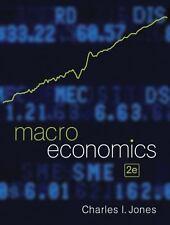 Macroeconomics by Charles I. Jones (2011 2nd Edition, Hardcover)