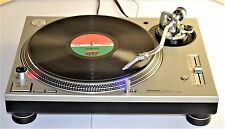 Technics SL 1200 MK5 in N. MINT condition+RARE Silver+User Manual+FREE SHIPPING!