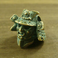 Warrior shaped Solid Brass Lanyard Bead Paracord Knife Tool Beads Knife pendant
