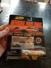 JOHNNY LIGHTNING OFFICIAL PACE CAR 73 CADILLAC ELDORADO 1999 IN PACKET