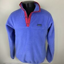 Patagonia Jacket Synchilla Snap T Fleece Pullover Medium Sweater Ski VTG USA