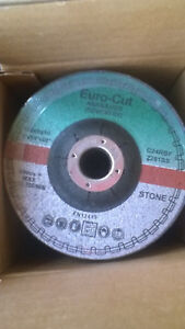 GRINDING DISCS 100 X 6 X 16MM STONE EURO CUT PACK OF 10 SUPERB PRODUCT
