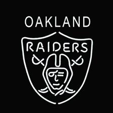 "New Oakland Raiders Nfl Beer Bar Neon Light Sign 24""x20"""