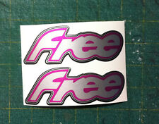 Piaggio Free FL 50 Fuxia argento  - adesivi/adhesives/stickers/decal
