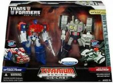 War Within TItanium Series Optimus Prime & Megatron 6-Inch 6 Diecast Figure