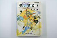 Final Fantasy V 5 Nintendo Super Famicom SNES Strategy Guide Book Japanese Rare