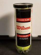 Wilson Grand Slam All Court Tennis Balls (1 Can)