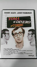 TOMA EL DINERO Y CORRE DVD WOODY ALLEN CASTELLANO INGLES SEALED PRECINTADA NUEVA