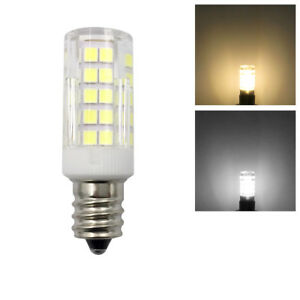 E12 Candelabra C7 LED Light bulb 6W 64-2835SMD Ceramics Lamp 110V/220V/AC DC 12V