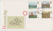 UNADDRESSED GB FDC ROYAL MAIL 1979 HORSERACING STAMP SET MEDWAY PMK