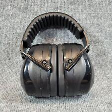 Mpow HM035A Ear Defenders, Noise Reduction Earmuffs w/ Soft Foam Ear Cups Black