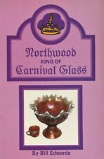 Vintage Northwood Carnival Glass Patterns Forms Colors Values / Illustrated Book