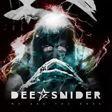 DEE SNIDER We Are The Ones CD ( Twisted Sisters )